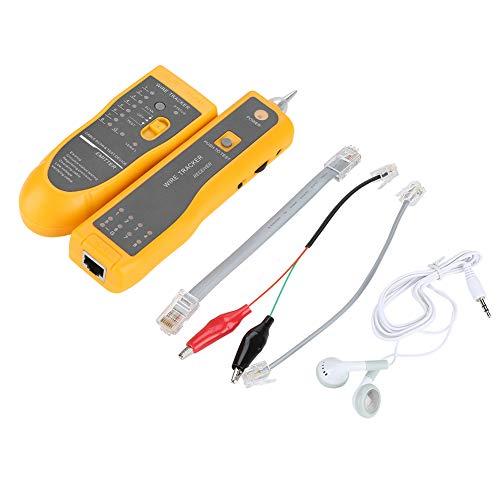 Detector rastreador de cables,Probador de Cable RJ11 RJ45 Buscador multifunción Cable Check Wire para líneas telefónicas y cables LAN Ethernet, detector de línea
