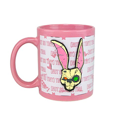Borderlands 3: Tiny Tina Metal Badge Mug
