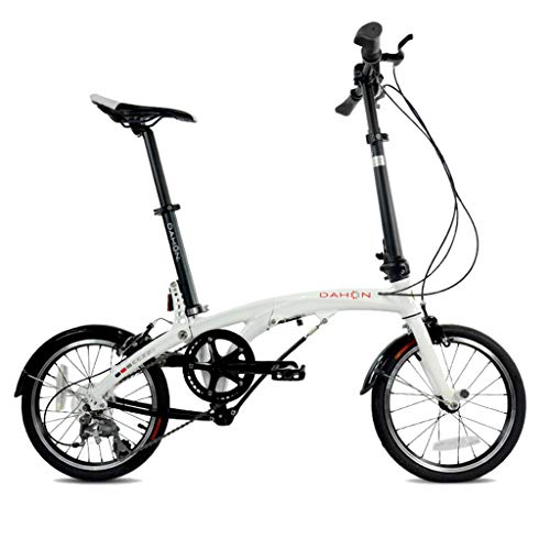 Buy Discount Folding Bikes Folding Bicycle Universal Folding Bicycle Women's Bicycle 6-Speed 16-inch...