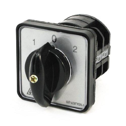 Sourcingmap - 3 1-0-2 posición leva selector giratorio
