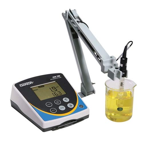 "Oakton WD-35419-23 Oakton Ion 700 Benchtop Meter with""All-in-One"" pH Electrode and Stand"