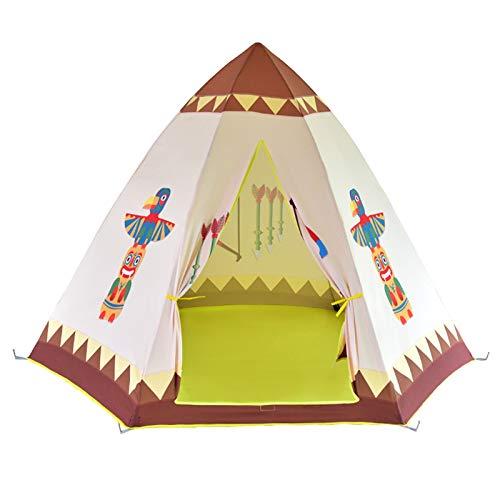 Los Niños Juegan Carpa Kids Play Tienda Niñera Tienda interior Playhouse Casa para niños Niñas Plazas interiores y al aire libre para Interior y Exterior ( Color : White , Size : 150×150×120 cm )