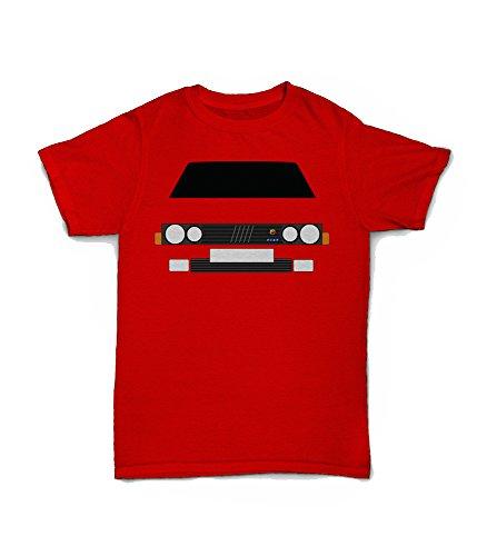 Retro Motor Company Fiat Strada Abarth - Camiseta personalizable Verde verde XXL