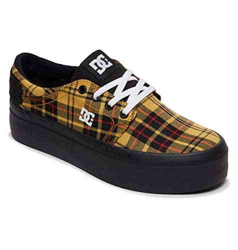 DC Shoes Trase Platform TX - Leather Flatform Shoes for Women - Schuhe - Frauen