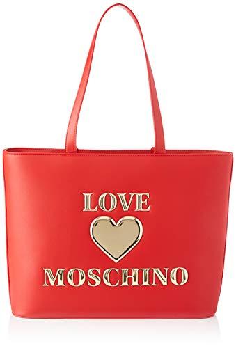 Love Moschino Precollezione SS21 | Borsa Shopper da Donna, Spalla, Rosso, Normal