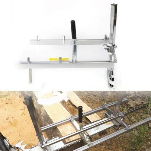Chainsaw Mill - 20 Zoll Kettensägen Mühle Beplankung Fräsen,Tragbare Beplankung Fräsen Aluminium Stahl Mig Schweißen Sägewerk 14