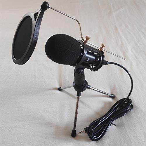 Diaod Micrófono de Condensador de grabación, micrófono de teléfono móvil, Conector de 3,5 mm para computadora, PC, micrófono de Karaoke para teléfono