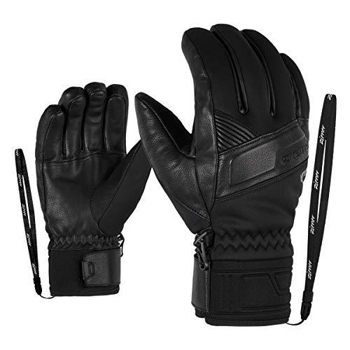 Ziener Herren Gliss GTX INF PR Ski-Handschuhe/Wintersport   Warm, Atmungsaktiv, Primaloft, Soft-Shell, Black, 10