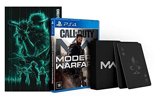 Call of Duty Modern Warfare 2019 - Edição especial com brinde - PlayStation 4