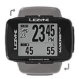 LEZYNE Macro Plus HR - Contador GPS para Bicicleta o montaña, Unisex, Color Negro, Talla única