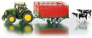 SIKU - John Deere 7530 Tractor with Stock Trailer