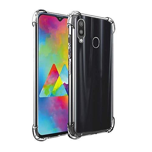 Capinha Capa Anti Shock Impactos Samsung Galaxy M30 2019 Bordas Reforçadas Silicone - ENCAPAR