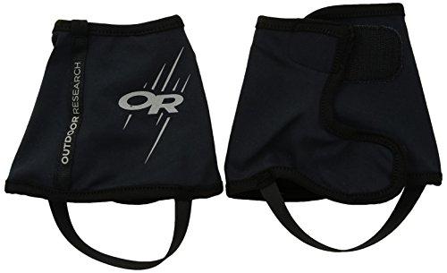 Outdoor Research Overdrive Wrap Gaiters - Pantalones de Senderismo (Talla XL), Color Negro