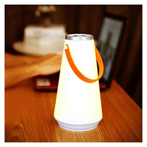 YSYSPUJ Lámpara de césped Luz de Emergencia Regulable, lámpara de Camping al Aire Libre del Sensor táctil USB, Linterna portátil inalámbrica, luz de Noche LED Recargable
