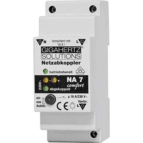 Gigahertz Solutions Netzabkoppler 1 St. NA7 Schaltspannung (max.): 230 V/AC 16 A 2300 W Restwelligkeit: 4 mV