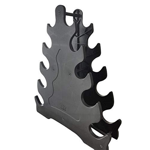 DSHUJC Kurzhantel-Rack Multifunktionaler 5-Lagen-Kompakt-robuster Anti-Verschleiß-Kurzhantelhalter für den Heimgebrauch