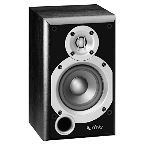 Infinity Primus Two-way 4-Inch Bookshelf/Satellite Speaker (Black, Each)