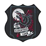 P PIPIGOU an American Werewolf in London Slaughtered Lamb Tin Sign Metal Plate Personalized Metal Sign Art Metal Hanging Painting 12 x 12 inches