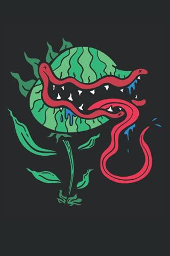Fleischfressende Pflanze Notizbuch: Fleischfressende Pflanzen Notizbuch | 6x9 Zoll DIN A5 | 120 Seiten Punktraster | Zimmerpflanze Notizheft | ... Notebook | Pflanzenliebhaber Geschenk