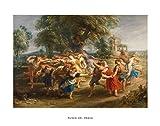 Lámina del Museo del Prado 'Danza de aldeanos-Rubens'