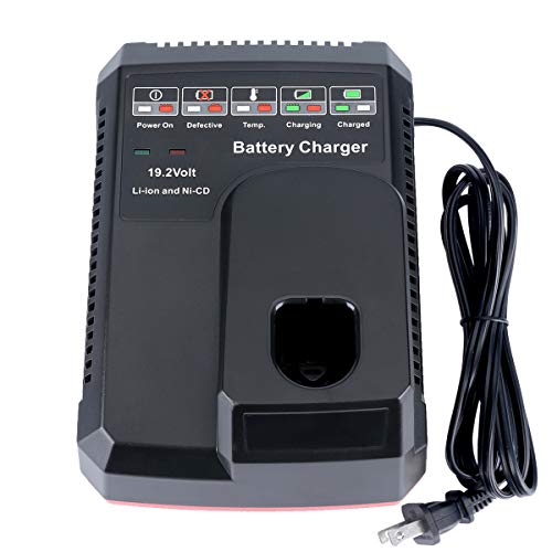 Lasica 19.2 Volt Battery Charger Replacement for Craftsman 19.2 Volt C3...