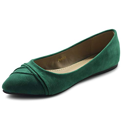 Top 10 best selling list for green shoes womens flats