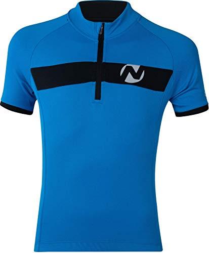 Nakamura Kinder-Radsport-Bike-Fahrrad-Trikot Allen II blau, Größe:164