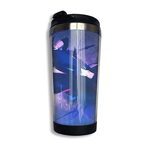 Ahdyr Taza de café de Viaje de Acero Inoxidable, Taza de Viaje de café Fate Zero Lancer, Vaso de Acero Inoxidable con Aislamiento al vacío de 13,5 oz