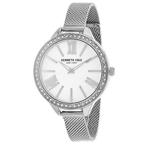 Kenneth Cole Mujer 's KC50939001 Cuarzo Plata Reloj