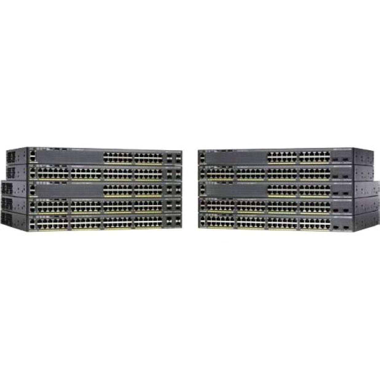 センブランス細菌送料Cisco Catalyst 2960Xr-24Ts-I - Switch - L3 - Managed - 24 X 10/100/1000 + 4 X Sfp - Desktop, Rack-Mountable Product Type: Networking/Lan Hubs & Switches by Unknown
