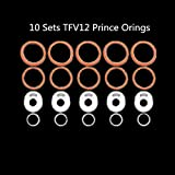 TFV12 Prince Oring Silicone Seals Gasket O Rings Rubber Bands (10 Sets TFV12 Prince Oring)