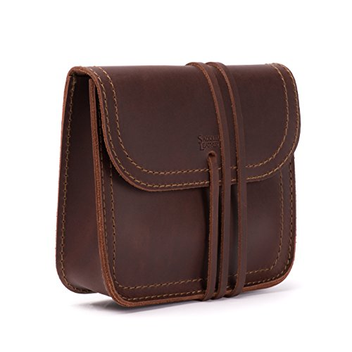 Saddleback Leather Co. Leather Cable Bag Organizer Pouch Includes 100 Year Warranty