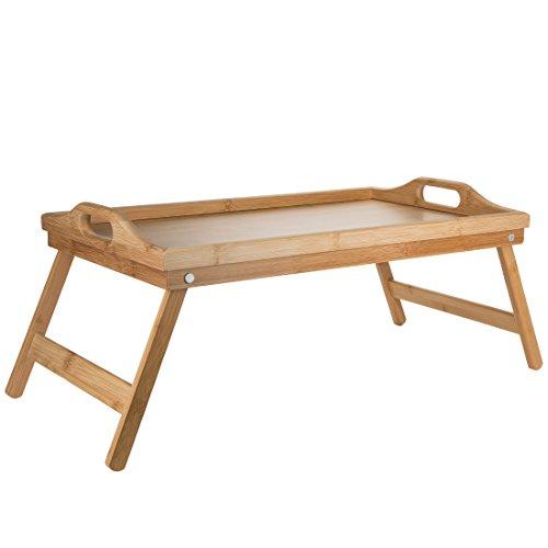 Levivo SET540724270 - Bandeja de desayuno de madera de bambú...