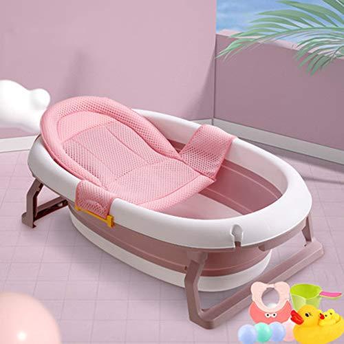 Temperatuurgevoelige babybadje, pasgeboren kunnen zitten en liggen in de badkuip, opvouwbaar en telescopische, draagbare opslag, beschikbaar voor 0-6 jaar oud,F