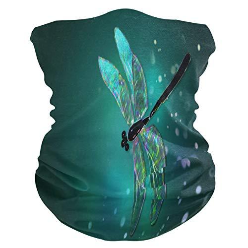 QMIN - Diadema de verano con diseño de libélula