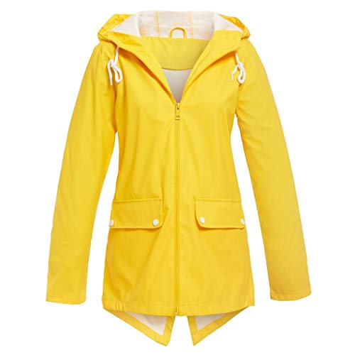 Great Price! NANTE Top Loose Women's Blouse Solid Jacket Outdoor Hooded Windproof Coat Outerwear Ove...