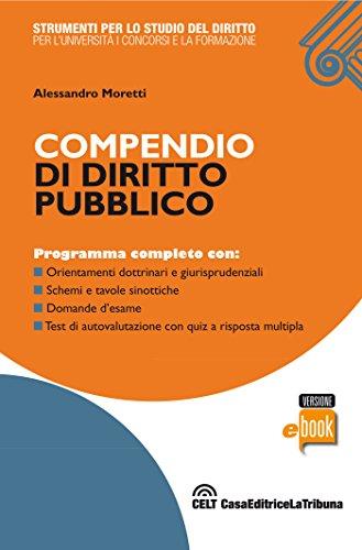 Compendio di diritto pubblico (Strumenti per lo studio del diritto)