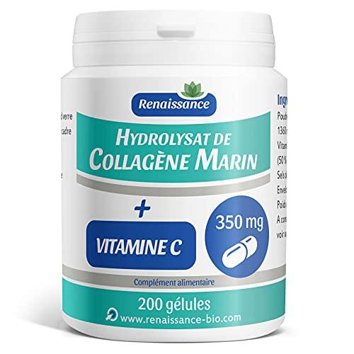 Collagène Marin (Hydrolysat) 350mg +...