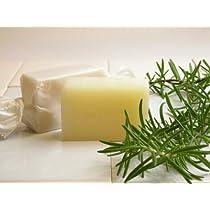 洗顔石鹸品質の無添加手作り固形石鹸シャンプー 「ローズマリー」45g