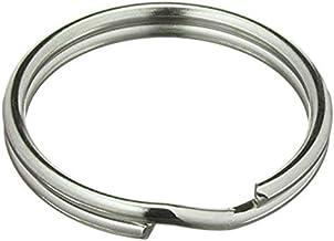 Sleutelringen, diameter 30 mm, staal, glanzend, zilver, sleutelringen, sleutelhangers, sleutelring, sleutelring, sleutelri...