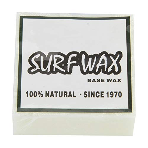 Cera de Tabla de Surf, Antideslizante Cera de Surf Tabla de Surf Skimboard Skateboard Ceras (Blanco) (Color : Blanco)