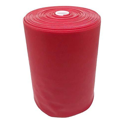 66FIT Banda Elastica per Allenamento 46m, Rosso (Rot), 46 m