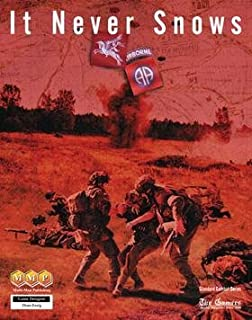 MMP: It Never Snows, Standard Combat Series Board Game of the Market-Garden Campaign, Sept. 1944