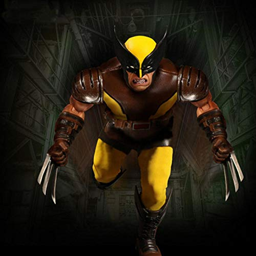 VENDISART Mezco One: Wolverine PVC Collectible Model Toy Action Figure 6 Inch