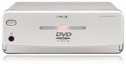 Sony MV-101 1-DIN-DVD-Player Silber