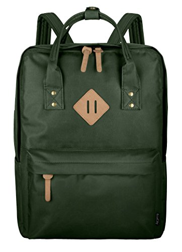 EcoCity Backpack Laptop Zaini Cartella Daypack Classic,BP0151A4,Army Green