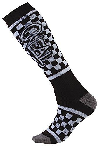 Oneal Damen Victory Pro Mx Socken, Schwarz/Weiß, Einheitsgröße