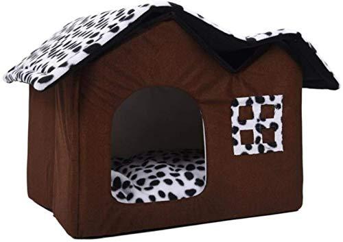 OH Carcasa Plegable para Mascotas en Lujo Four Seasons Cálido Y Fácil de Limpiar Cat Dog Universal Pet Slider Slider Pet Picture Lavable