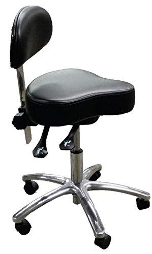 Dentists Unite 160 Professional Dental Stool, Hygienists, Ergonomic, Black