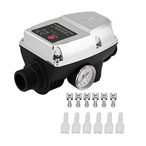 SOULONG - Controlador de presión para Bomba de Agua automática EPC-4 110 V Presostato electrónico de Bomba de Agua